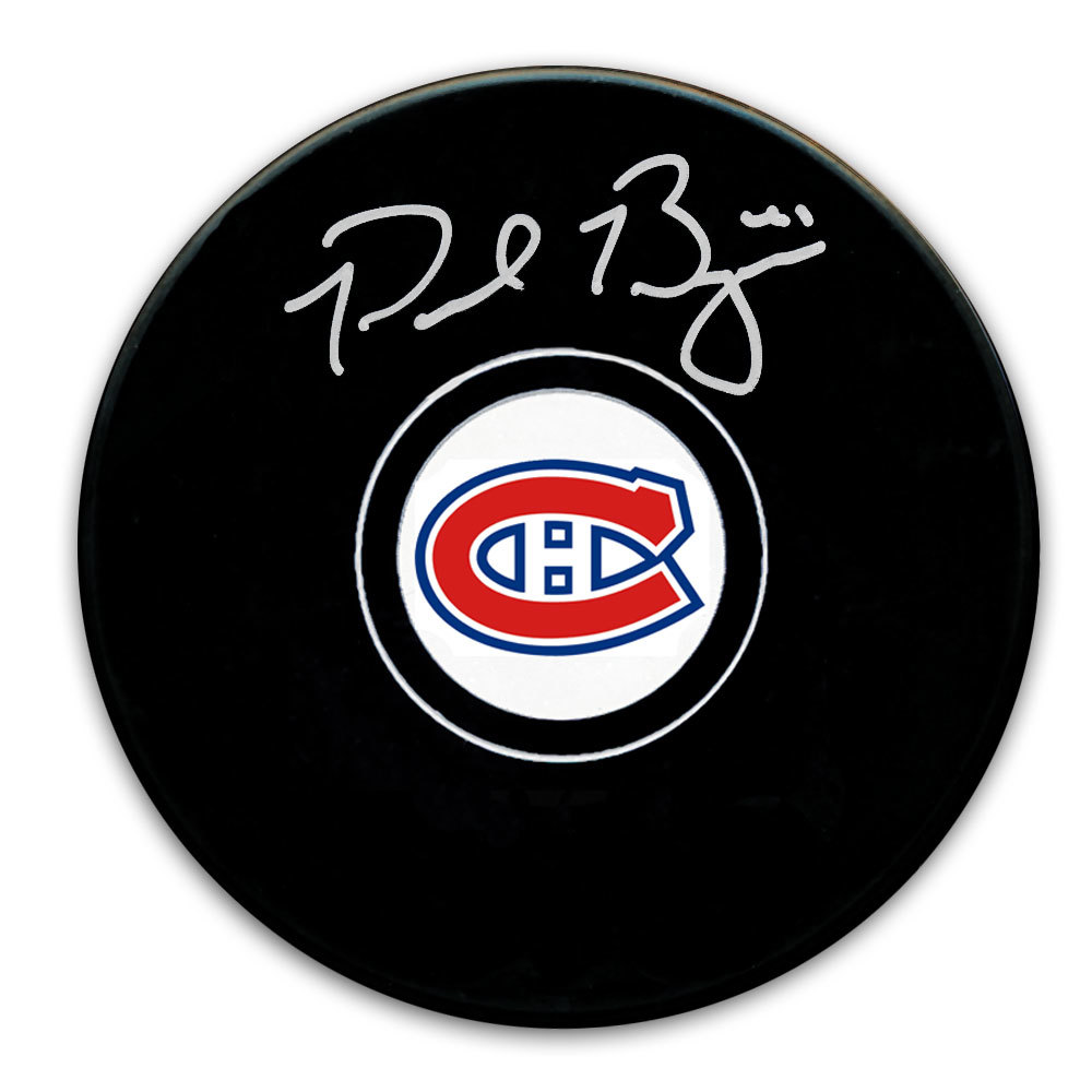 Paul Byron Montreal Canadiens Autographed Puck