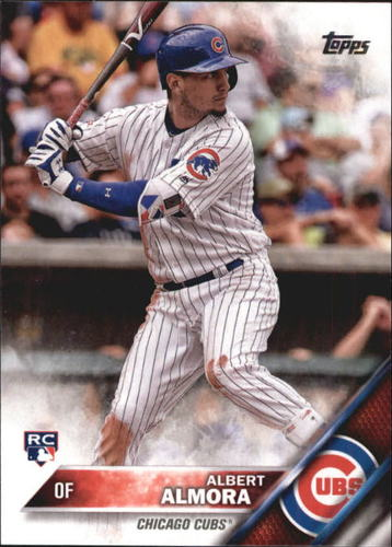 Photo of 2016 Topps Update #US178A Albert Almora RC