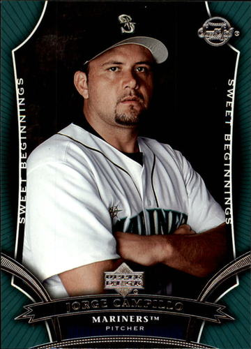 Photo of 2005 Sweet Spot #128 Jorge Campillo SB RC