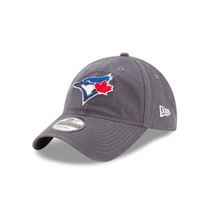 Toronto Blue Jays Core Classic Graphite Adjustable Cap Grey by New Era