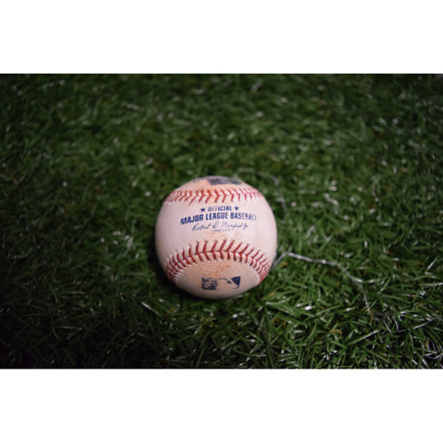 Photo of Game-Used Baseball: Peter Bourjos Double off Miguel Castro