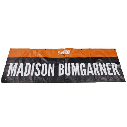 Photo of San Francisco Giants - 2014 World Series Parade Banner - Madison Bumgarner