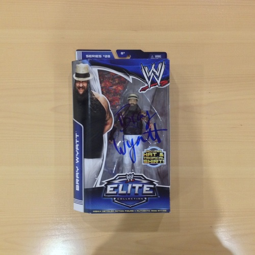Bray Wyatt SIGNED Elite Series 28 Figure