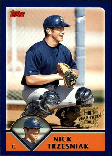 Photo of 2003 Topps Traded #T269 Nick Trzesniak FY RC