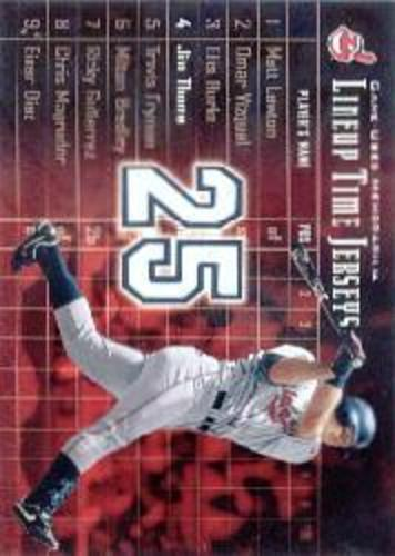Photo of 2003 Upper Deck Lineup Time Jerseys #JT Jim Thome