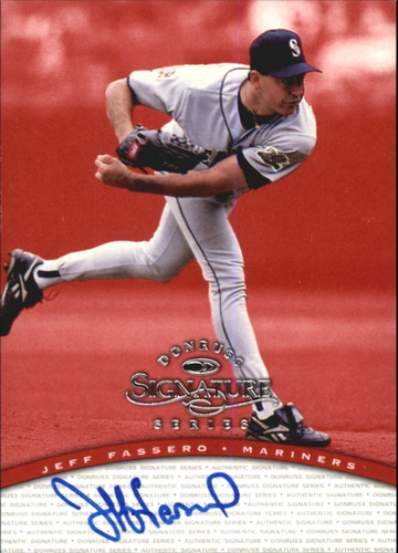 Photo of 1997 Donruss Signature Autographs #34 Jeff Fassero/3900