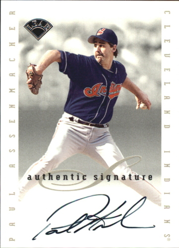 Photo of 1996 Leaf Signature Extended Autographs #5 Paul Assenmacher
