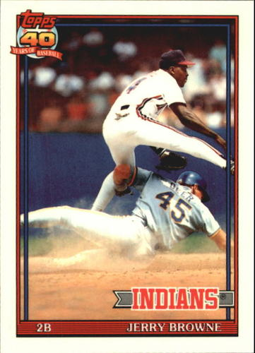 Photo of 1991 Topps Tiffany #76 Jerry Browne