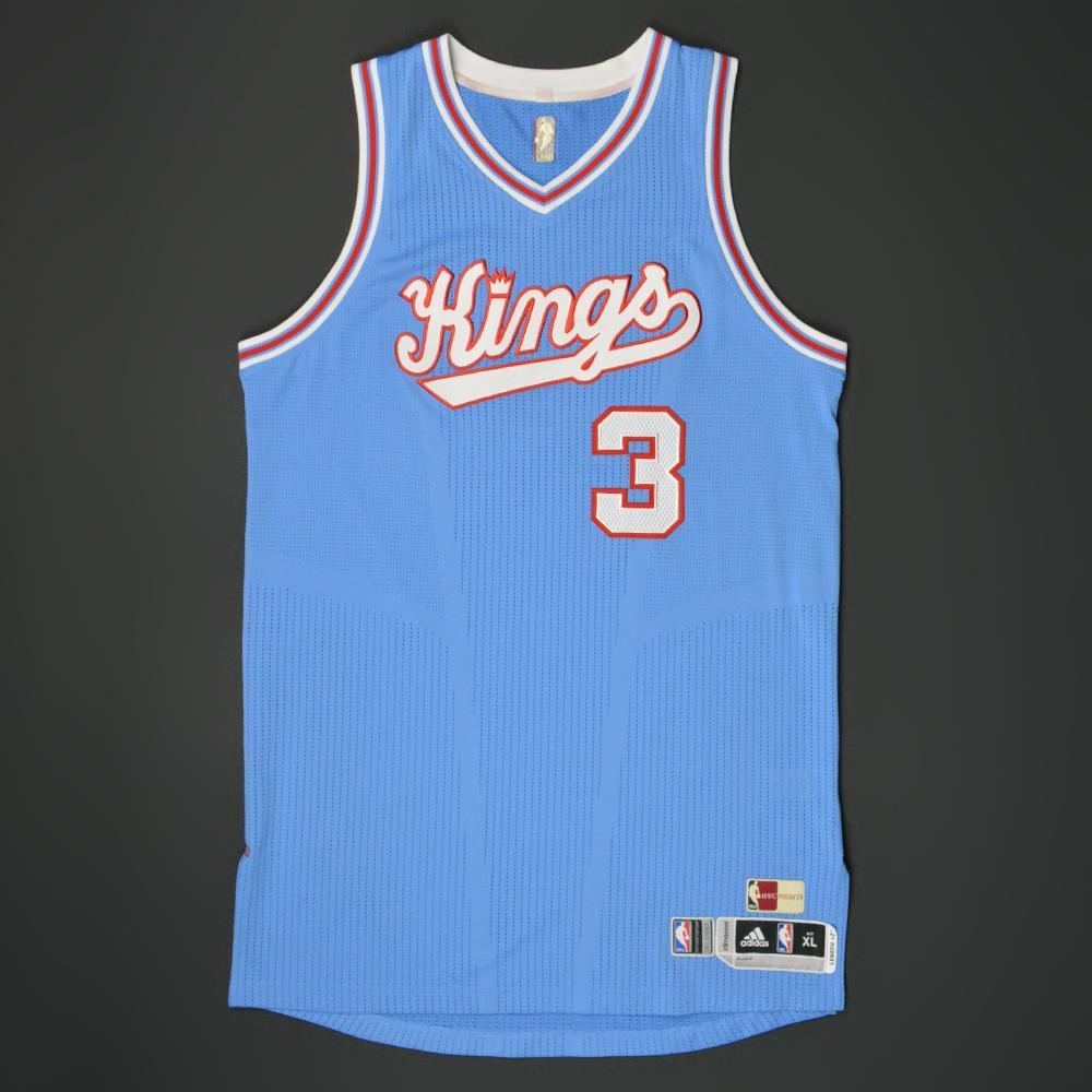 Marco Belinelli - Sacramento Kings - Game-Worn \'1985-86 Road ...