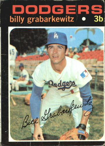Photo of 1971 Topps #85 Billy Grabarkewitz
