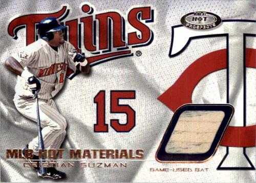 Photo of 2002 Hot Prospects MLB Hot Materials #CG Cristian Guzman Bat SP/261