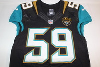 NFL INTERNATIONAL SERIES - JAGUARS ARTHUR BROWN GAME WORN JAGUARS JERSEY (OCTOBER 2 2016)