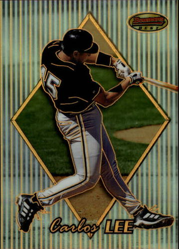 Photo of 1999 Bowman's Best Refractors #123 Carlos Lee