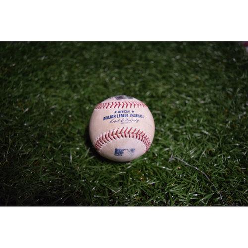 Photo of Game-Used Baseball: Trevor Plouffe Double off Stefan Crichton