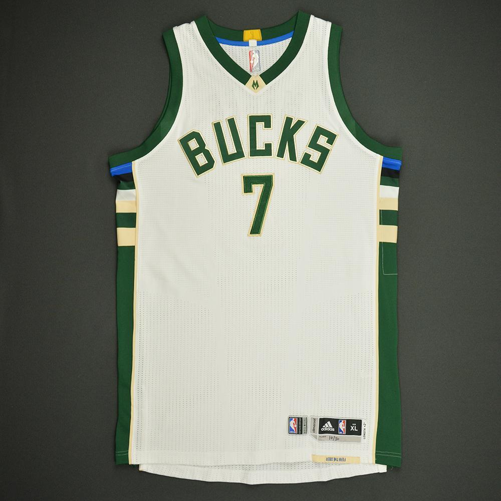 Thon Maker - Milwaukee Bucks - Game-Issued Rookie Season Jersey - 2016-17 Season