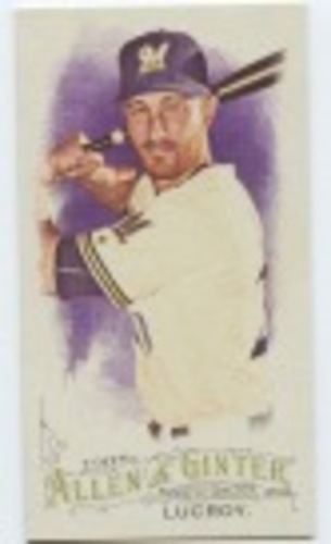Photo of 2016 Topps Allen and Ginter Mini #124 Jonathan Lucroy