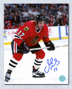 Joe Murphy Chicago Blackhawks Autographed 8x10 Photo
