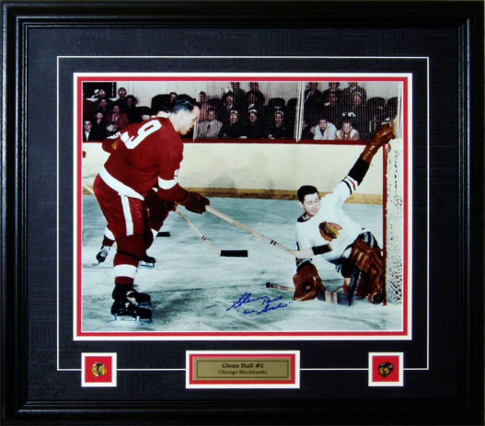 Glenn Hall - Signed & Framed 16x20