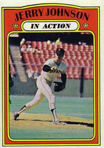Photo of 1972 Topps #36 Jerry Johnson IA
