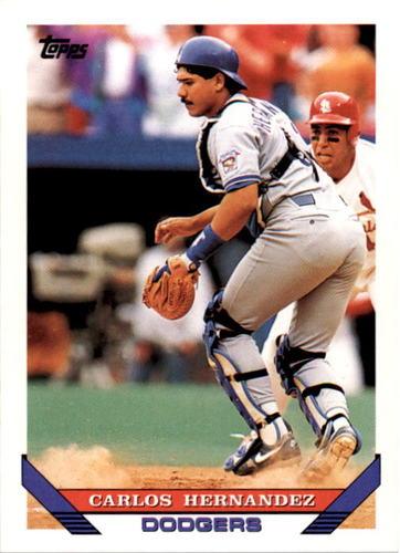 Photo of 1993 Topps #589 Carlos Hernandez