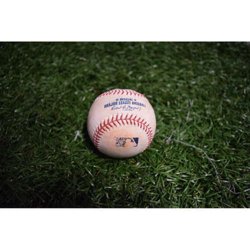 Photo of Game-Used Baseball: Daniel Robertson Single off Brad Brach