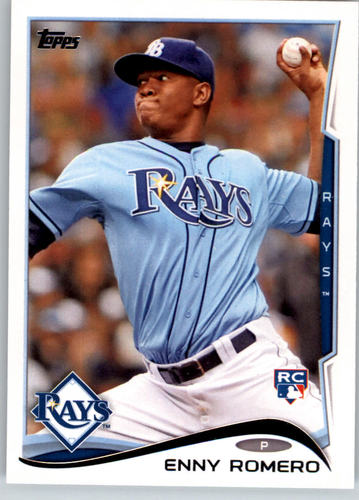 Photo of 2014 Topps #49 Enny Romero RC
