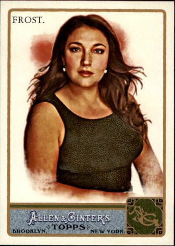 Photo of 2011 Topps Allen and Ginter #165 Jo Frost