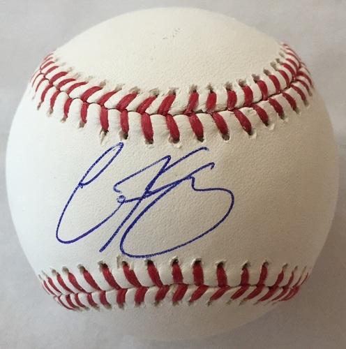 Carson Kelly Autographed Baseball