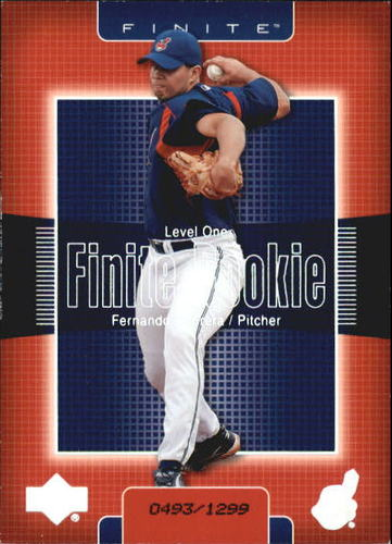 Photo of 2003 Upper Deck Finite #227 Fernando Cabrera T1 RC