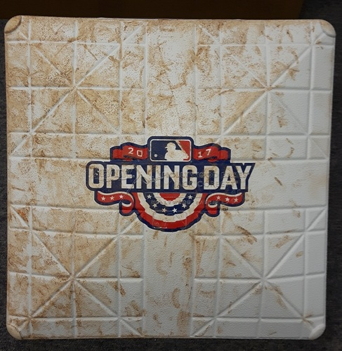 Photo of Authenticated 1st Base for Innings 4-6 of 41st Blue Jays Home Opener