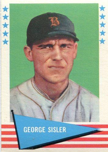 Photo of 1961 Fleer #78 George Sisler