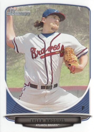 Photo of 2013 Bowman Draft Draft Picks #BDPP101 Tyler Brosius