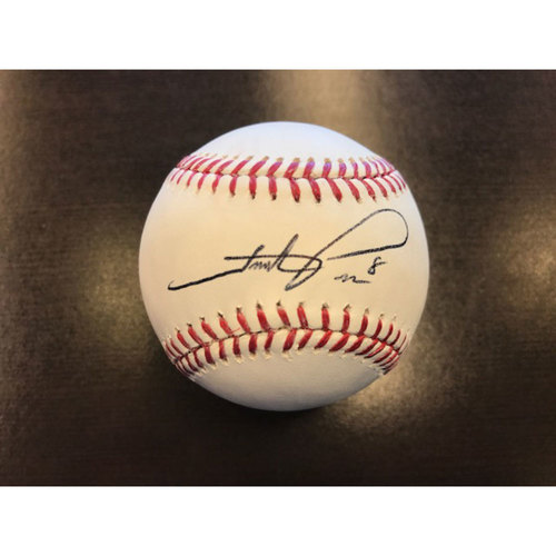 Giants Community Fund: Hunter Pence Autographed Baseball