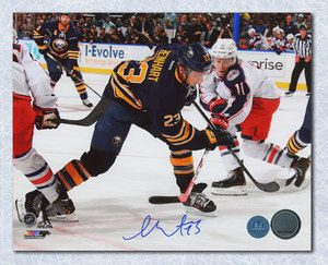 Sam Reinhart Buffalo Sabres Autographed First NHL Game 8x10 Photo