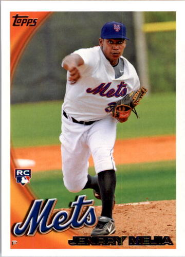 Photo of 2010 Topps #395 Jenrry Mejia RC