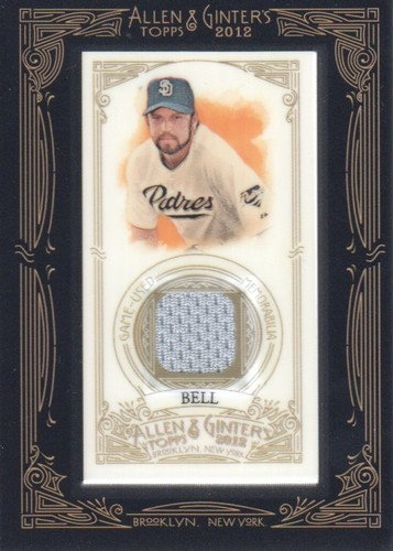 Photo of 2012 Topps Allen and Ginter Relics #HB Heath Bell