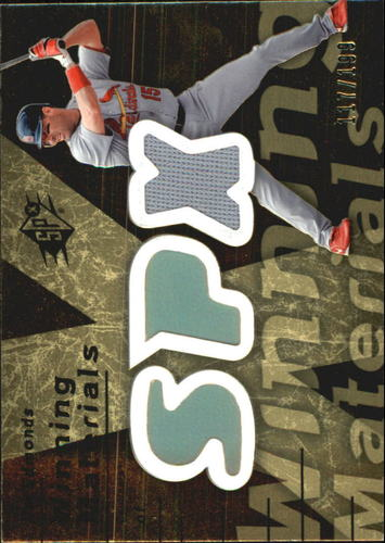 Photo of 2007 SPx Winning Materials 199 Gold #JE Jim Edmonds/199