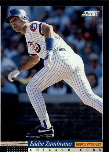 Photo of 1994 Score #385 Eddie Zambrano RC