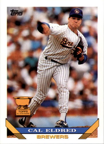 Photo of 1993 Topps #590 Cal Eldred