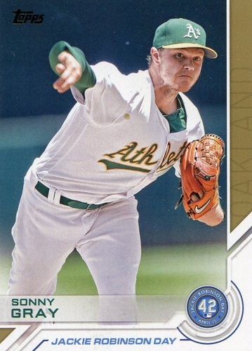 Photo of 2017 Topps Jackie Robinson Day #JRD14 Sonny Gray