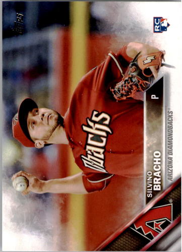 Photo of 2016 Topps #251 Silvino Bracho Rookie Card -- D'backs post-season