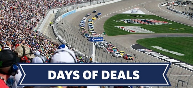 NASCAR FOLDS OF HONOR QUIKTRIP 500 AT ATLANTA MOTOR SPEEDWAY - PACKAGE 2 of 5