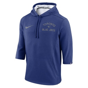 Toronto Blue Jays Flux 3/4 Sleeve Fleece Hoody by Nike