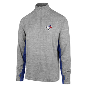 Toronto Blue Jays Forward Evolve 1/4 Zip by '47 Brand