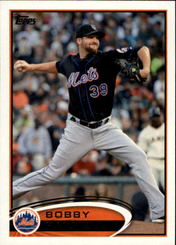 Photo of 2012 Topps #83 Bobby Parnell
