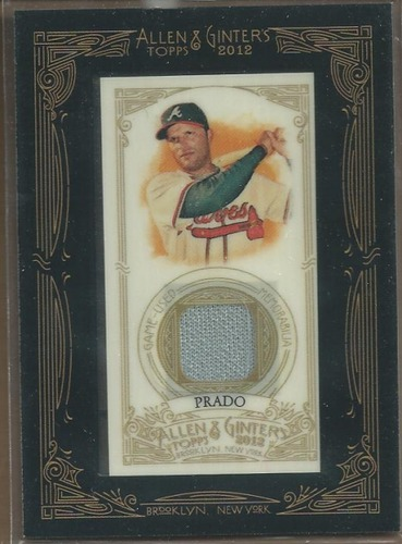 Photo of 2012 Topps Allen and Ginter Relics #MPR Martin Prado