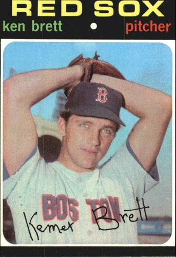 Photo of 1971 Topps #89 Ken Brett