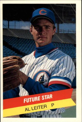 Photo of 1987 International League All-Stars TCMA #38 Al Leiter