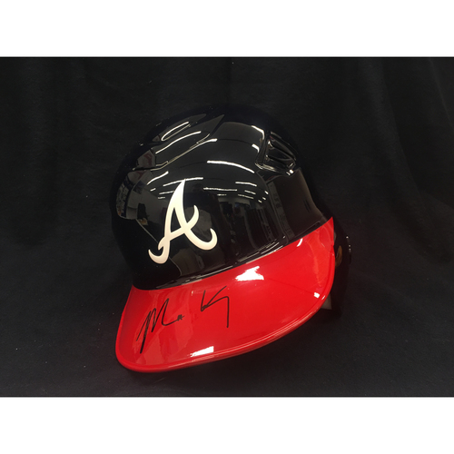 Photo of Braves Charity Auction - Matt Kemp Autographed Helmet