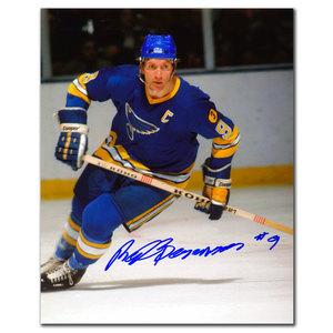 Red Berenson St. Louis Blues BREAKOUT Autographed 8x10